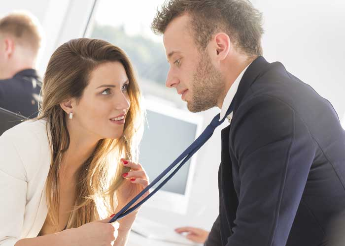 How Can You Tell If a Coworker is Flirting with You